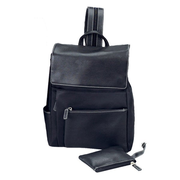 Shop Goodhope Bellino Women s Accessories Utility Leather Drawstring  Backpack - On Sale - Free Shipping Today - - 11050689 44584b8648e35