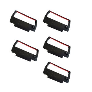 5-pack Compatible RC200 Ribbons for Star SP200 ST200 (Pack of 5)