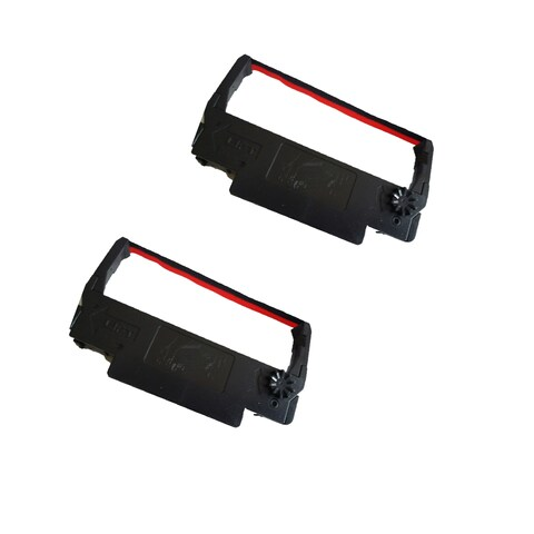 2-pack Compatible RC200 Ribbons for Star SP200 ST200 (Pack of 2)