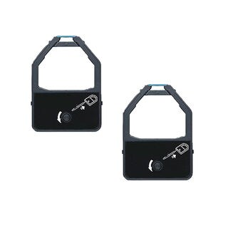 2-pack Compatible KX-P155 Ribbons for Panasonic KX-P1524 1624 2624 3624 (Pack of 2)