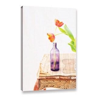 ArtWall Elena Ray 'Tulips' Gallery-wrapped Canvas