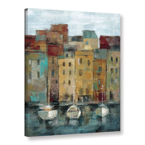 ArtWall Silvia Vassileva's Old Town Port 2, Gallery Wrapped Canvas