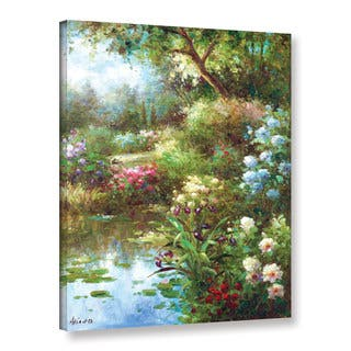 ArtWall 0 Axiano's Waters Edge, Gallery Wrapped Canvas
