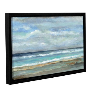 ArtWall Silvia Vassileva's Seashore, Gallery Wrapped Floater-framed Canvas