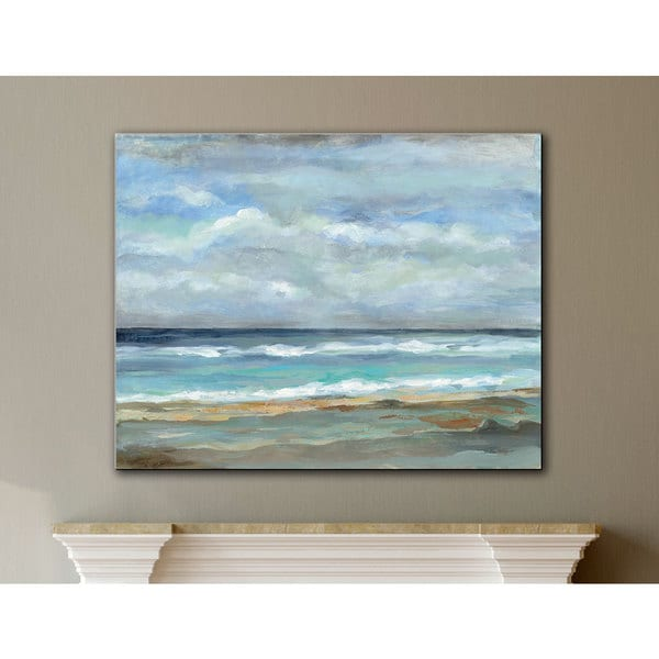 ArtWall Silvia Vassileva 'Seashore' Gallery Wrapped Canvas Wall Art
