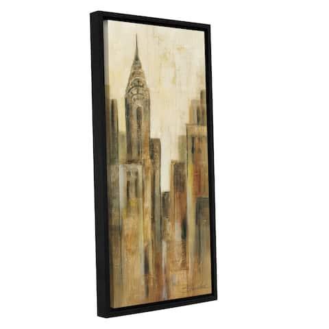 ArtWall Silvia Vassileva's NY Sunrise 2, Gallery Wrapped Floater-framed Canvas