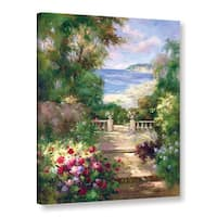 ArtWall 0 Axiano's Path To The Sea, Gallery Wrapped Canvas - Multi