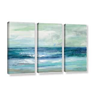 ArtWall Silvia Vassileva's Tide, 3 Piece Gallery Wrapped Canvas Set