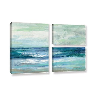 ArtWall Silvia Vassileva's Tide, 3 Piece Gallery Wrapped Canvas Flag Set