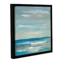 ArtWall Silvia Vassileva's Early Morning Waves, Gallery Wrapped Floater-framed Canvas