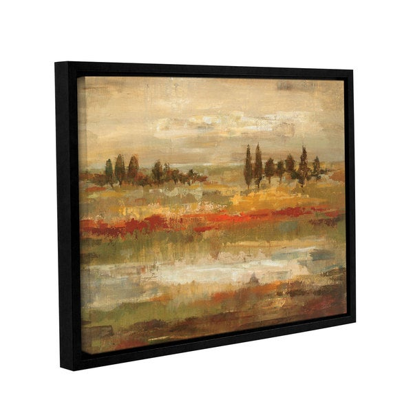 ArtWall Silvia Vassileva's Summer Fields, Gallery Wrapped Floater-framed Canvas