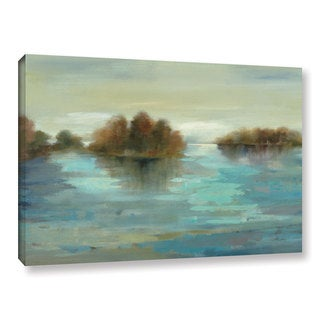 ArtWall Silvia Vassileva's Serenity On The River, Gallery Wrapped Canvas