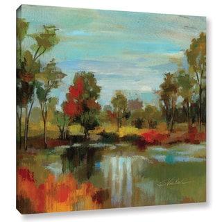ArtWall Silvia Vassileva's Hidden Pond Hues I, Gallery Wrapped Canvas