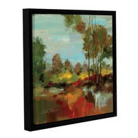 ArtWall Silvia Vassileva's Hidden Pond Hues II, Gallery Wrapped Floater-framed Canvas
