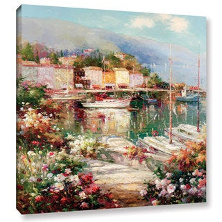 ArtWall Peter Bell's Marina Del Sol, Gallery Wrapped Canvas