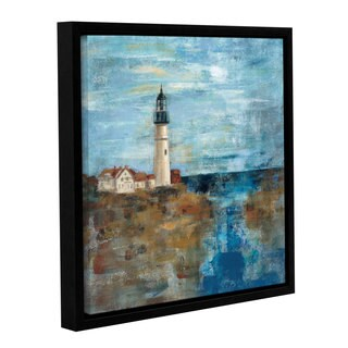 ArtWall Silvia Vassileva's Lighthouse Dream, Gallery Wrapped Floater-framed Canvas