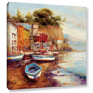 ArtWall 0 Catano's Drydock, Gallery Wrapped Canvas