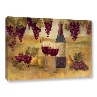 ArtWall Silvia Vassileva's Fresco Afternoon Pinot, Gallery Wrapped Canvas