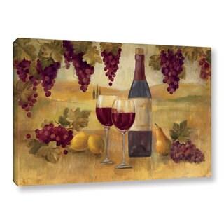 ArtWall Silvia Vassileva's Fresco Afternoon Pinot, Gallery Wrapped Canvas