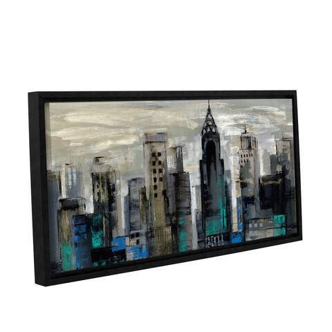ArtWall Silvia Vassileva 'New York Moment' Gallery-wrapped Floater-framed Canvas