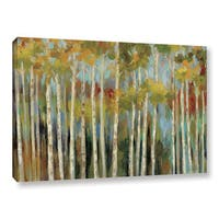 ArtWall Silvia Vassileva's Young Forest, Gallery Wrapped Canvas
