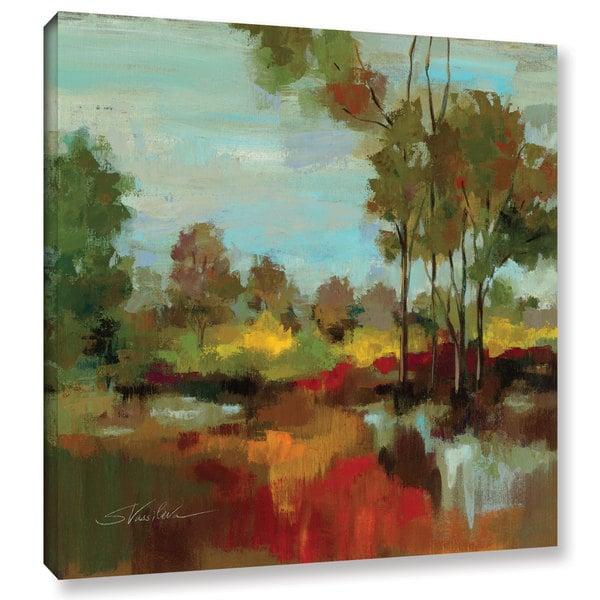 ArtWall Silvia Vassileva's Hidden Pond Hues II, Gallery Wrapped Canvas
