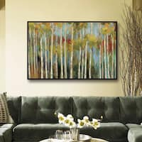 ArtWall Silvia Vassileva's Young Forest, Gallery Wrapped Floater-framed Canvas
