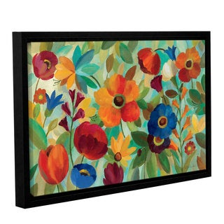 ArtWall Silvia Vassileva's Summer Floral V, Gallery Wrapped Floater-framed Canvas (5 options available)