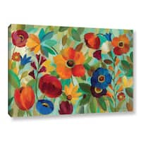 ArtWall Silvia Vassileva's Summer Floral V, Gallery Wrapped Canvas