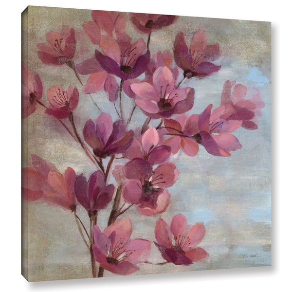 ArtWall Silvia Vassileva's April Blooms II, Gallery Wrapped Canvas
