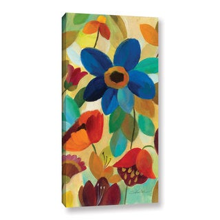 ArtWall Silvia Vassileva's Summer Floral I, Gallery Wrapped Canvas