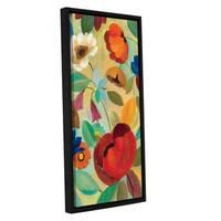 ArtWall Silvia Vassileva's Summer Floral II, Gallery Wrapped Floater-framed Canvas - Multi