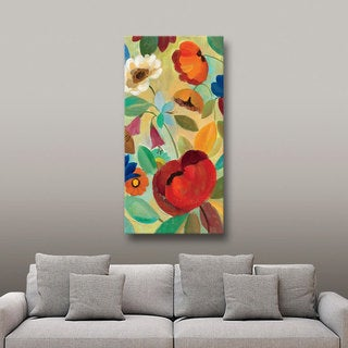 ArtWall Silvia Vassileva's Summer Floral II, Gallery Wrapped Canvas
