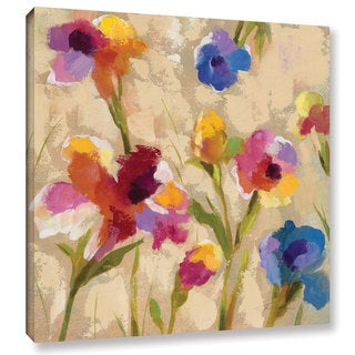 ArtWall Silvia Vassileva's Bold Bright Flowers II, Gallery Wrapped Canvas