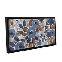 ArtWall Silvia Vassileva's Contemporary Tapestry, Gallery Wrapped Floater-framed Canvas