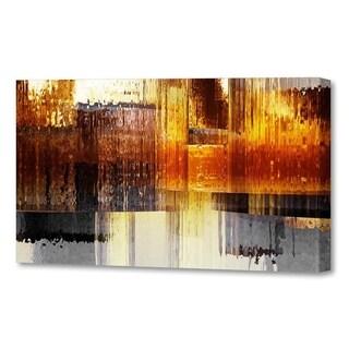 Menaul Fine Art's  'City Rain Horizontal'  by Scott J. Menaul
