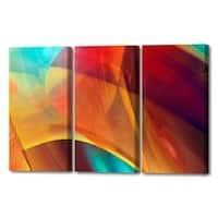 Menaul Fine Art's  'Joyful Canyon Triptych'  by Scott J. Menaul