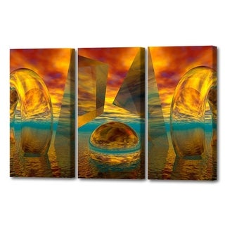 Menaul Fine Art's  'Sunset Triptych'  by Scott J. Menaul