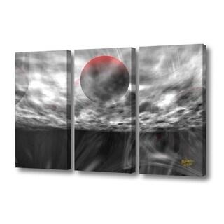 Menaul Fine Art's 'Turmoil Triptych' by Scott J. Menaul