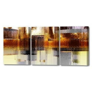 Menaul Fine Art's  'City Rain Triptych'  by Scott J. Menaul
