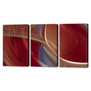 Menaul Fine Art's 'Autumn Musings Triptych' by Scott J. MenaulMulti Panel