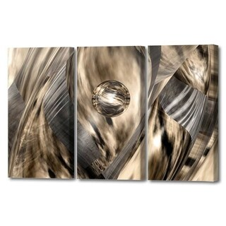 Menaul Fine Art's 'Abstract Jungle Triptych' by Scott J. MenaulMulti Panel