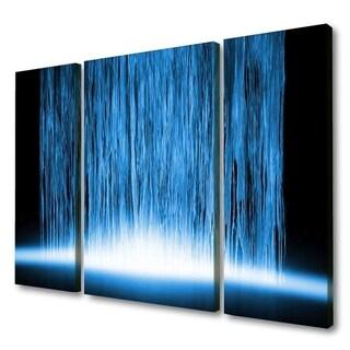Menaul Fine Art's 'Nigerian Waterfall Triptych' by Scott J. Menaul
