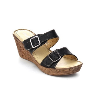 VIA PINKY HILDA-21 Women's Platform Wedge Sandals