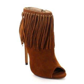 Beston DA34 Women's Fringe Ankle Booties