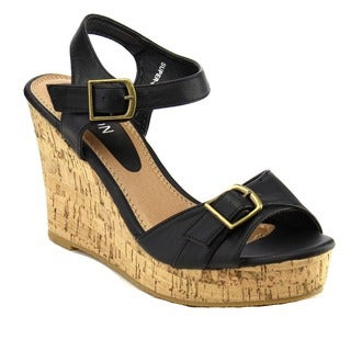 Beston EA51 Women's Platform Wedge Sandals