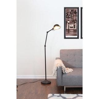 Banks Industrial Vintage Floor Lamp
