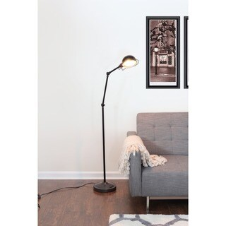 Banks Industrial Vintage Floor Lamp