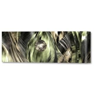 Menaul Fine Art's 'Abstract Jungle Green' by Scott J. Menaul