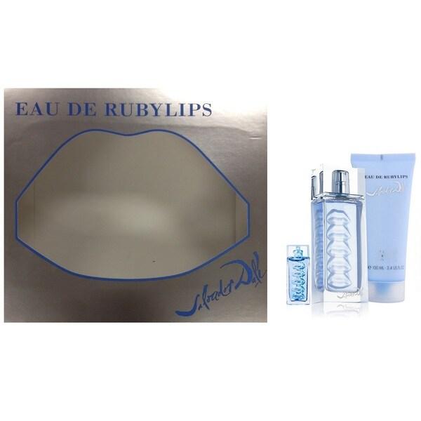 70d8e7c473e Shop Salvador Dali Eau De Rubylips Women's 3-piece Gift Set - Free Shipping  On Orders Over $45 - Overstock - 11051780